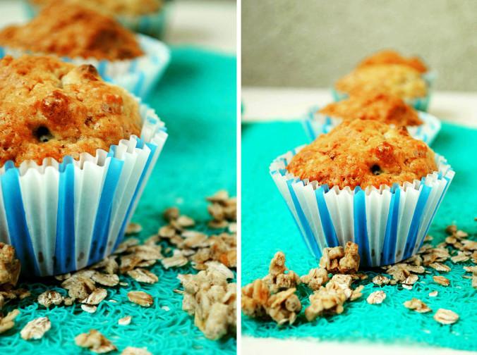 Cytrynowe muffinki z czekoladą