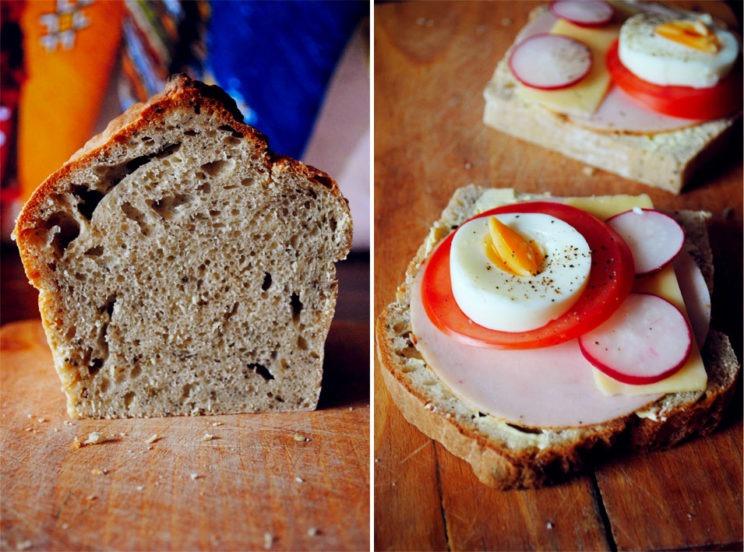 Domowy chleb drożdżowy