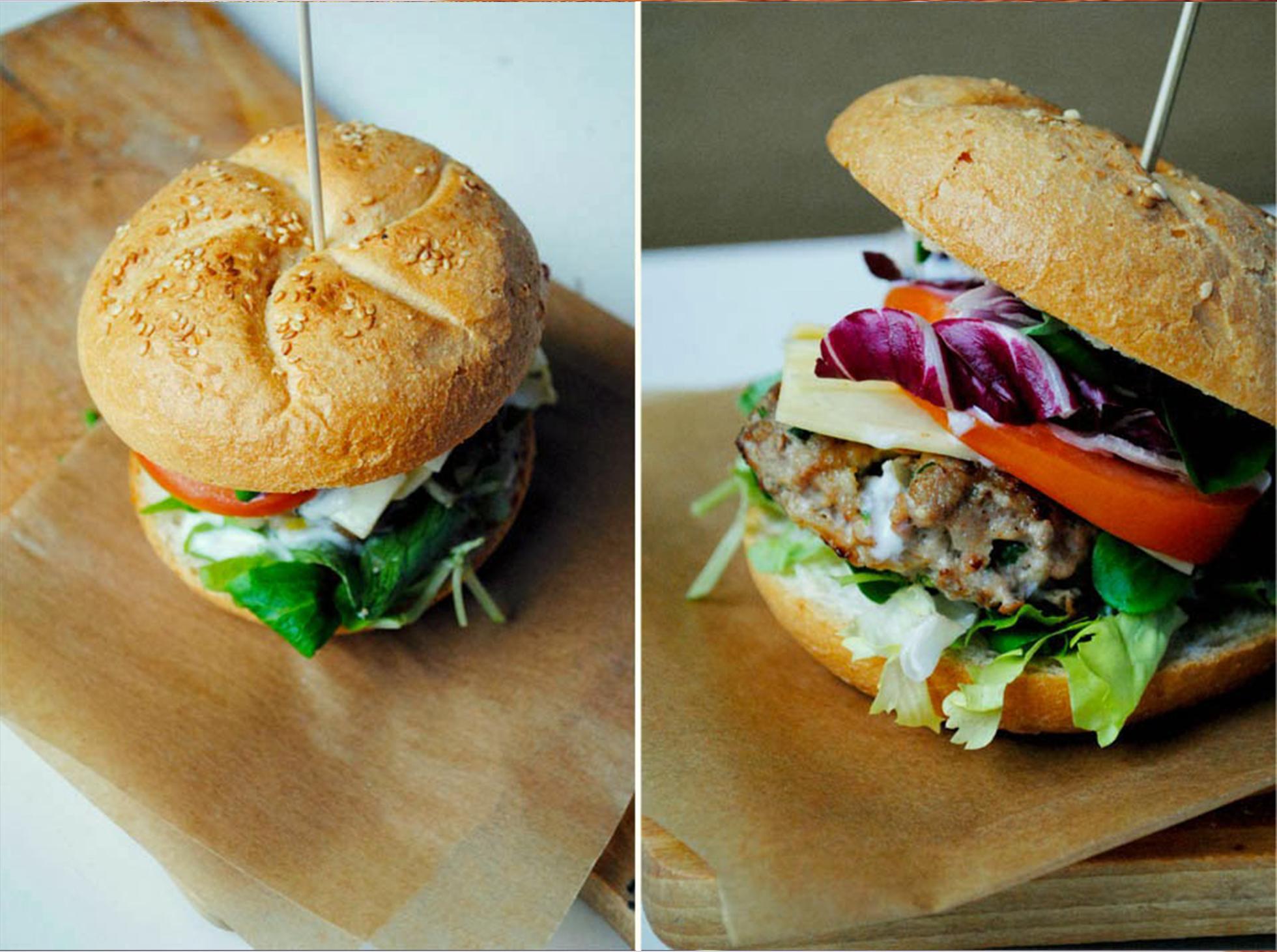 Przepis na domowe burgery