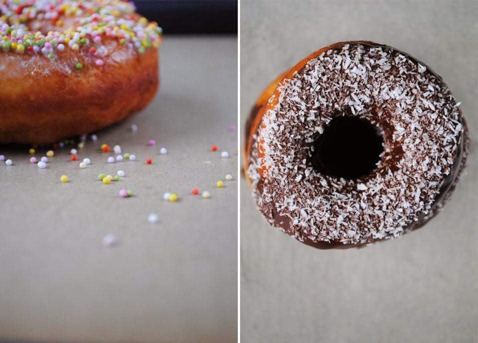 Donuts z czekoladą