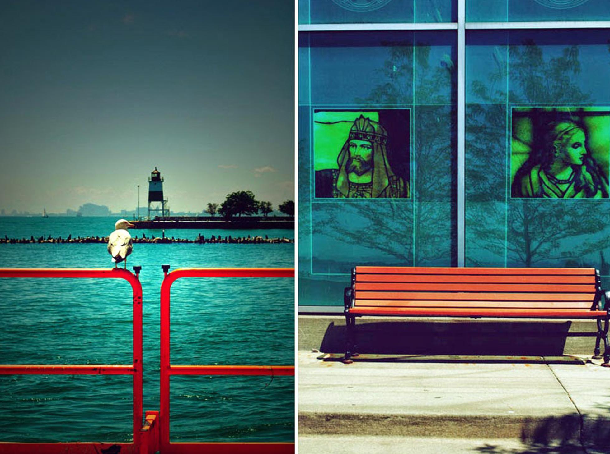 Chicago widok na miasto