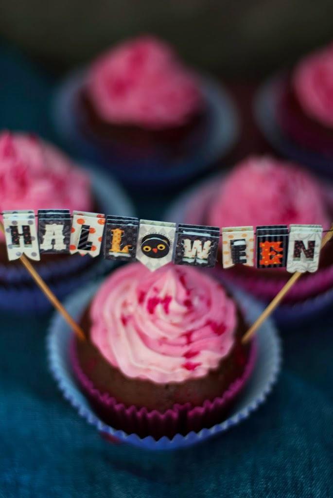 Czekoladowe Babeczki na Halloween