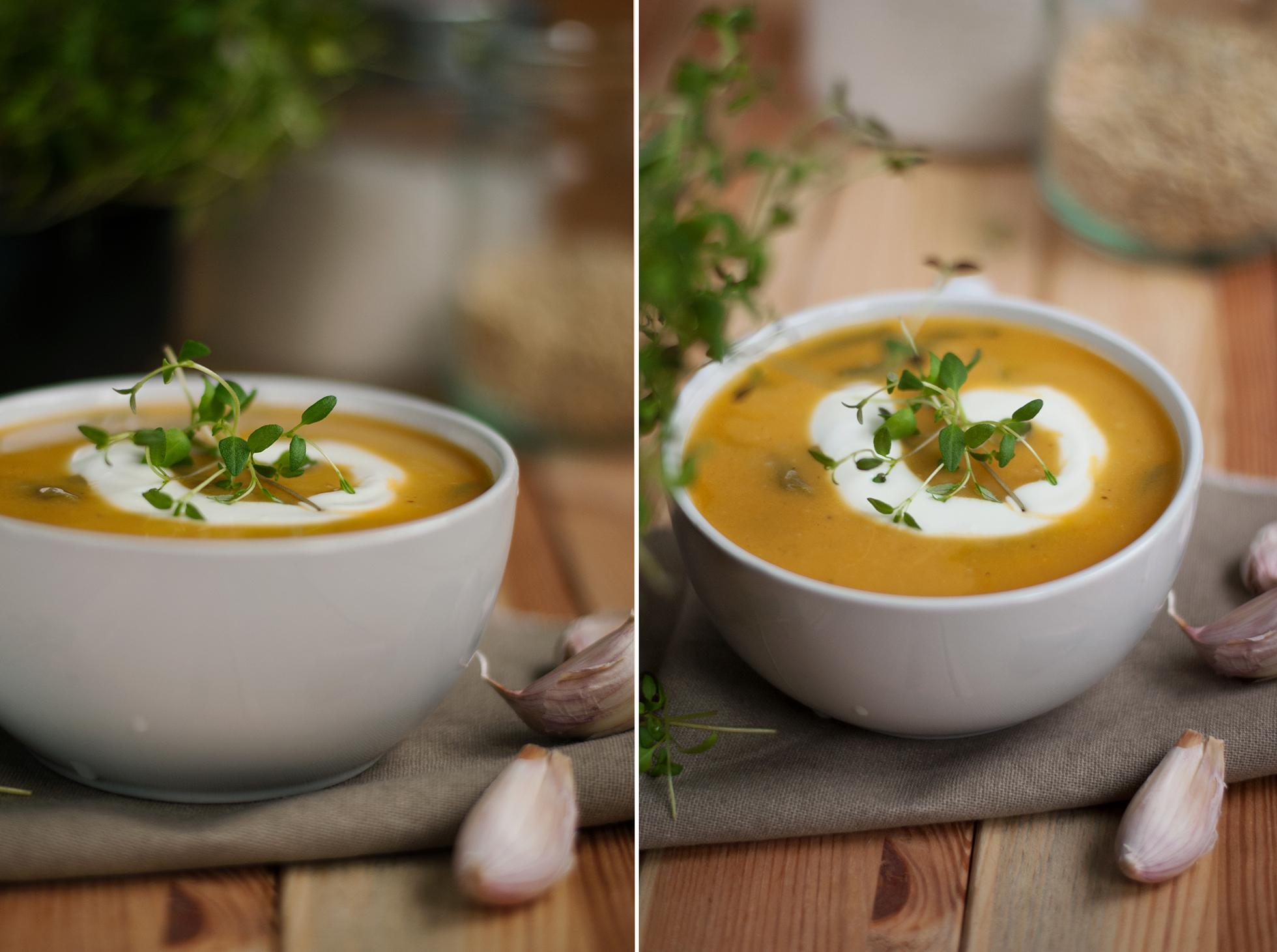 Przepis na zupę krem z batatów
