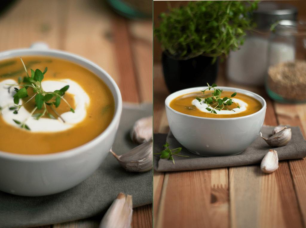 Zupa krem z batatow
