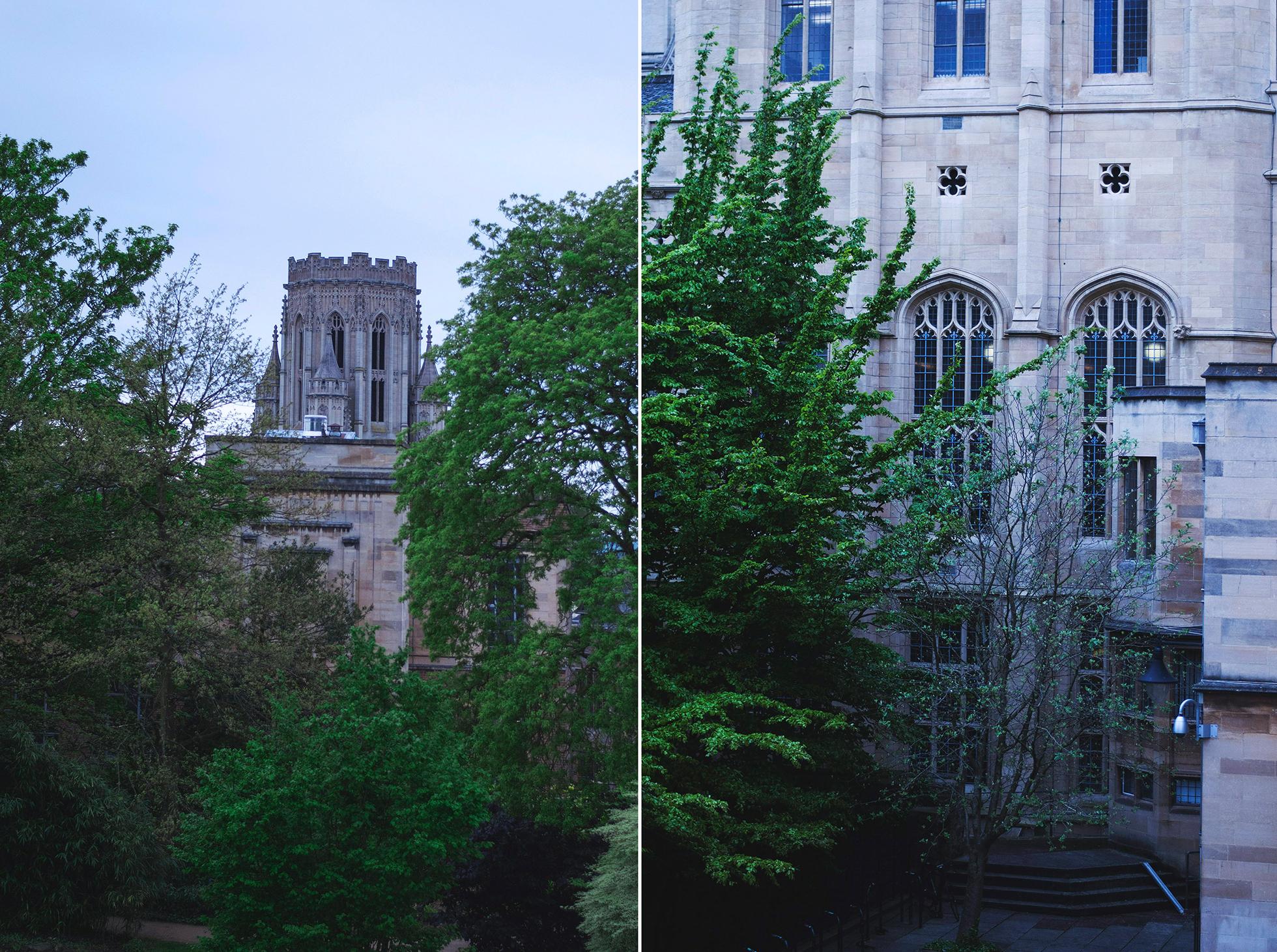Bristol Anglia fotografie Uniwersytetu