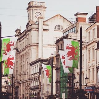 cardiff red dragon
