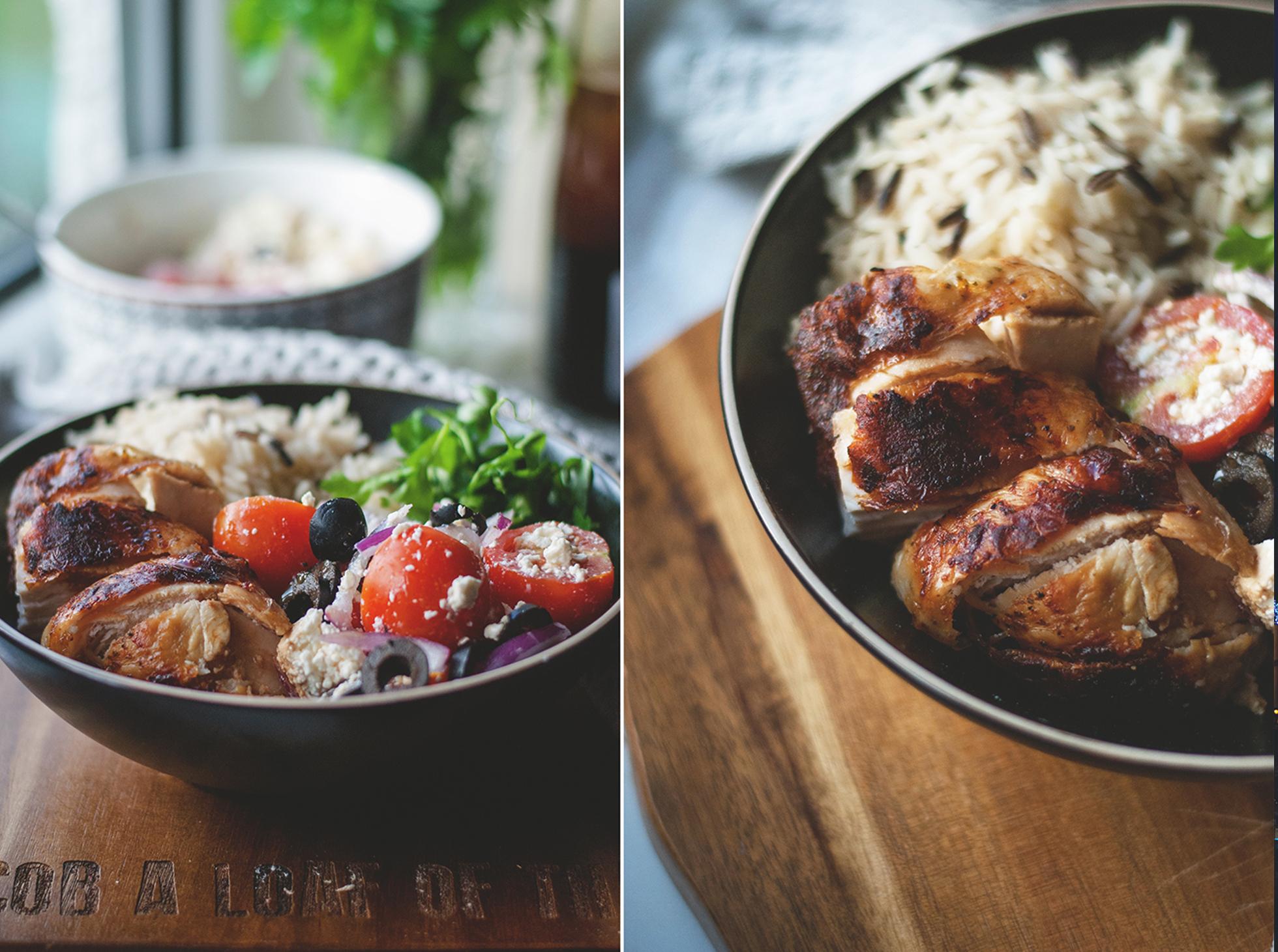 Kurczak w occie balsamicznym na obiad