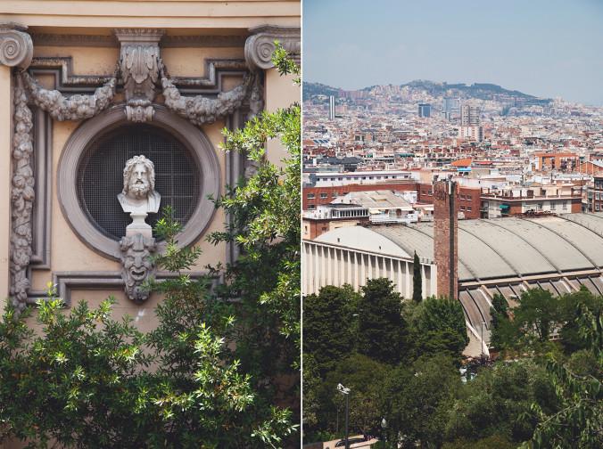 Barcelona, parki muzea