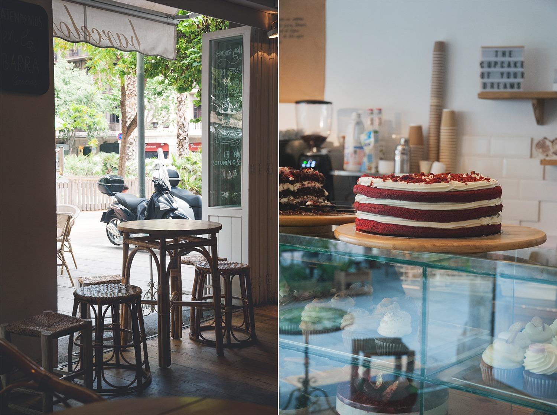 Cup&Cake Barcelona kawiarnia