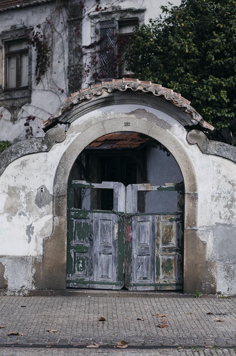 Porto opuszczone kamienice