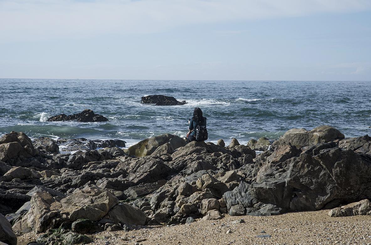 Porto widok na ocean