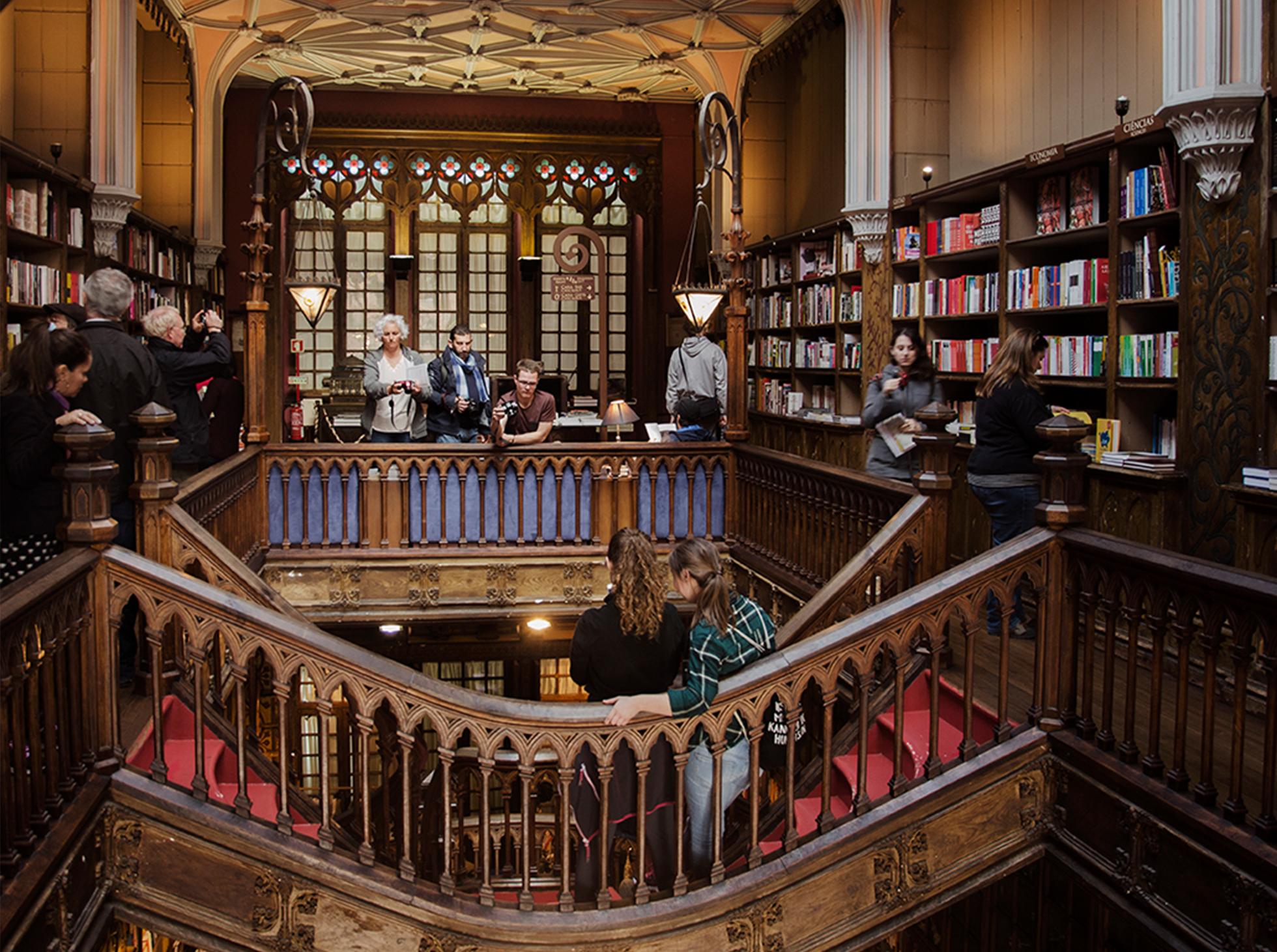 Porto znana księgarnia Harry Potter
