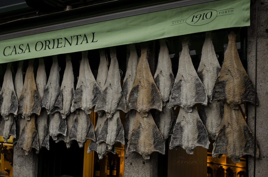 Bacalhau dorsz po portugalsku