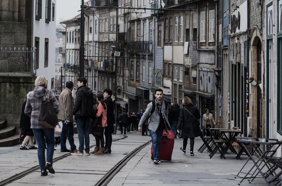 Ulice Porto spacer