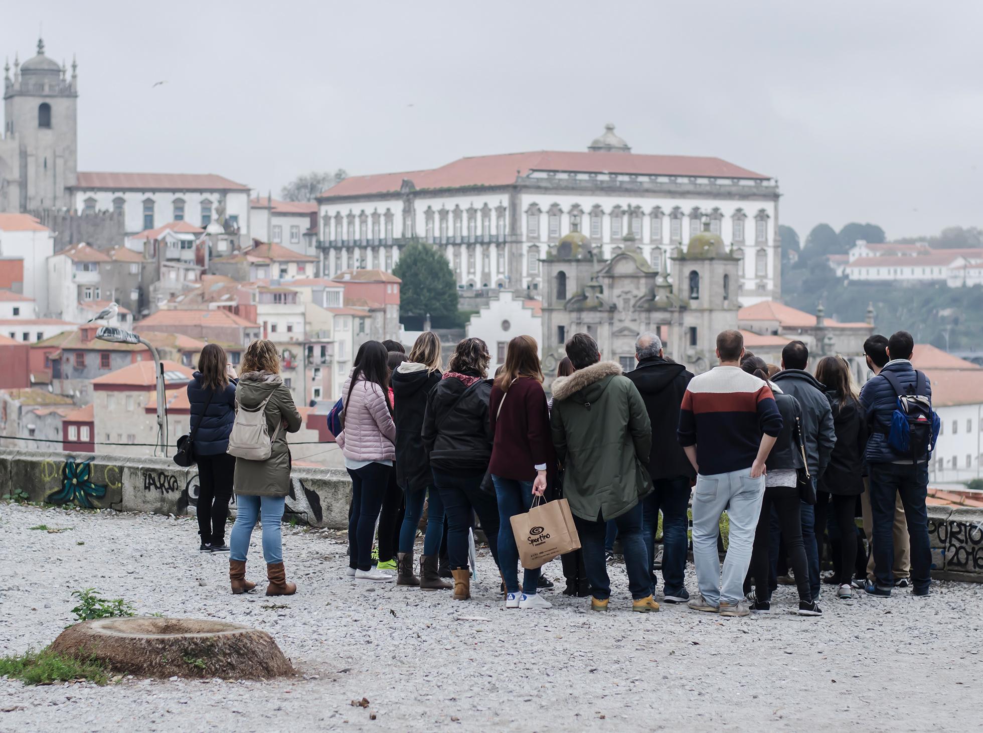 Porto zwiedzanie ulic