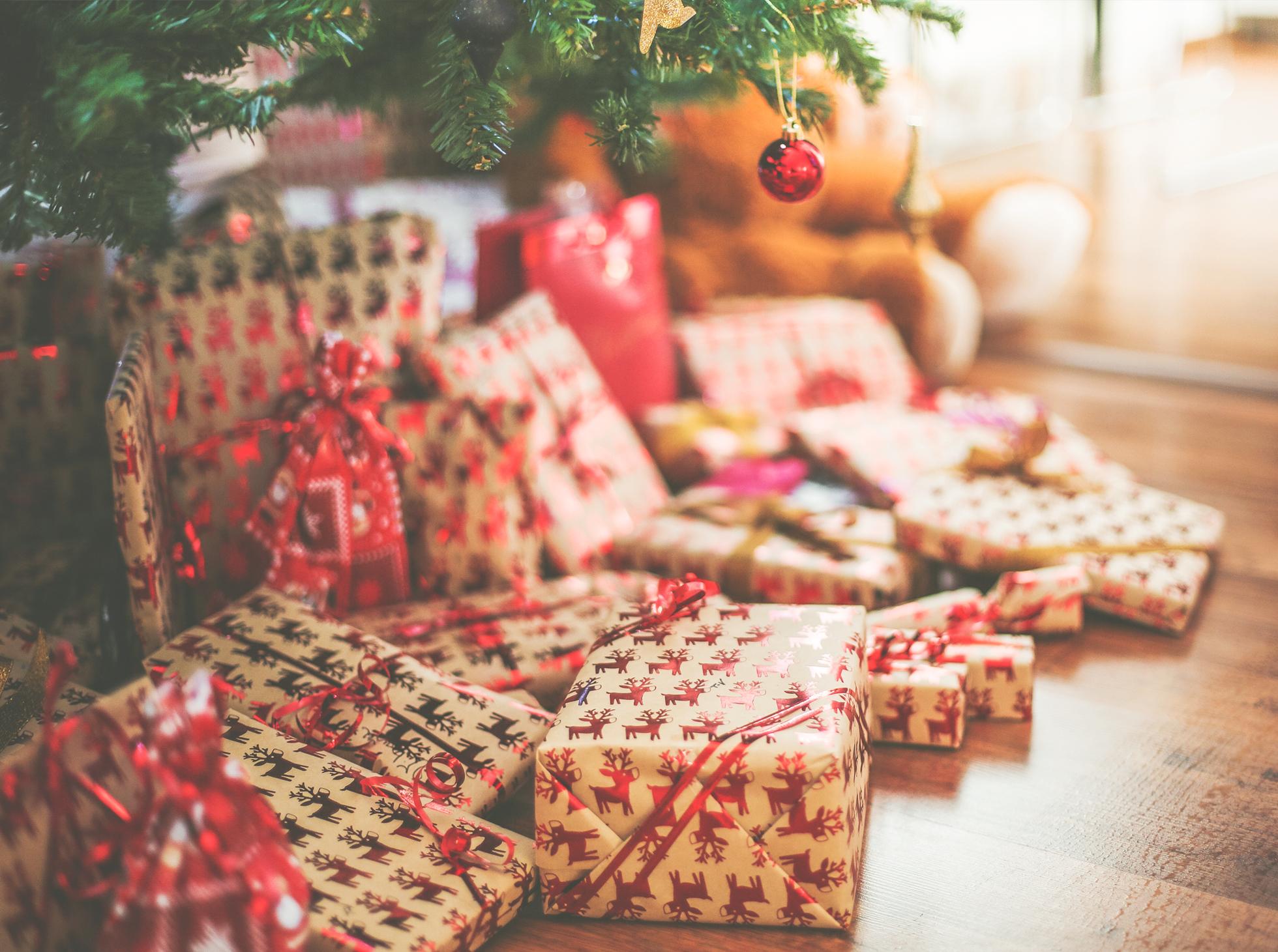 pomysłów na świąteczne prezenty
